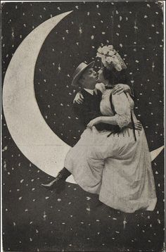 Hey, you two!  You know, it's only a paper moon...
