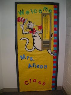 This is most likely be what my doors looks like. My obsession with Dr. Seuss will never end.