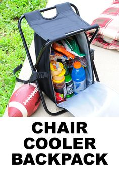 It's a backpack, cooler and a chair. Can you say ultimate camping gear? It's a backpack, cooler and a chair. Can you say ultimate camping gear? Camping Bedarf, Camping Survival, Camping Hacks, Camping Ideas, Camping Guide, Backpacking, Minivan Camping, Camping Chair, Women Camping