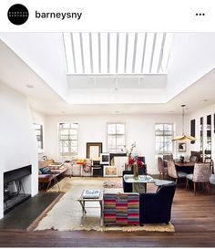 Image result for melissa coleman modern farmhouse Greenwich Village, Barneys New York, Modern Farmhouse, Outdoor Decor, Table, Living Rooms, Furniture, Beautiful, Design