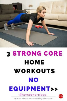 Are you looking for strength home workouts to tone your arm ,core & legs?Or you have painful bad knees and high-impact exercise just isn't in your future…at all? TRY THESE EASY FULL BODY WORKOUTS 👍 Workouts to do at home,workout at home,workout for women,home workouts,motivated to workout,strength,belly fat,strength motivation,workout for beginners workout beginners,weight loss,low impact cardio workout, bad knees,10 minutes workouts,at home exercises,