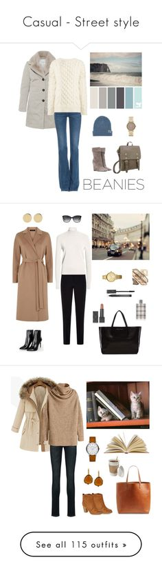 """""""Casual - Street style"""" by dezaval ❤ liked on Polyvore featuring Amina Rubinacci, Neff, MiH Jeans, Yves Saint Laurent, Joseph, Marc by Marc Jacobs, Barbara Bui, Ampersand As Apostrophe, Oasis and Burberry"""