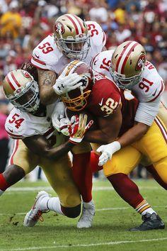 It takes an ARMY to take down Washington Redskins RB Samaje Perine f6c84d65d