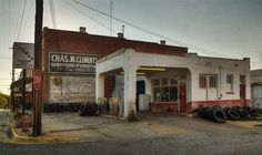 Corner Station, Buena Vista, Georgia,  by steve_rob, via Flickr