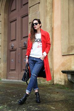 jeans larghi donna