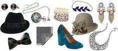 accessories what to wear to a Gatsby themed party