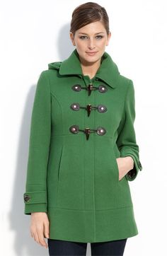 This has a lot of my favorite things...green, jacket, cuteness, but I do not think it would look good on my body type.