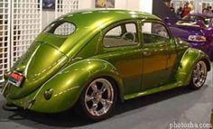Lowrider Custom 1955 Oval Window VW Daily Drive Beetle
