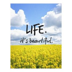 Customizable #Affirmations #Beautiful #Blue #Canvases #Decor #Field #Flower#Field #Flowers #Gorgeous #Happiness #Home #Inspirational #Joy #Life #Life#Quotes #Motivational #Quotes #Skies #Unique #With#Message #With#Words #Yellow Life is beautiful canvas print available WorldWide on http://bit.ly/2hZKOUn