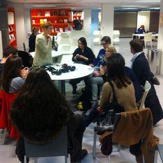 19 janvier 2013. Rencontres au Centre de ressources de la Gaîté Lyrique. #sonopheres www.gaite-lyriques.net/evenement/visite-sonosphere-2013 - @sylviafredriksson- #webstagram