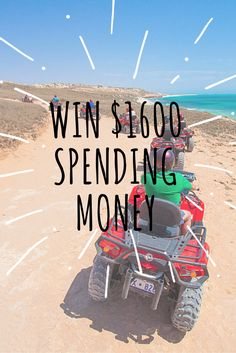 This one is for our Australian friends. Please share it with an Aussie you know if you are not from the Land Down Under.   Easy to enter and win $1600 spending money for your next trip!!