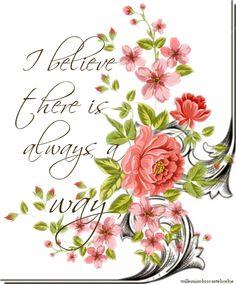 I believe   ©CW