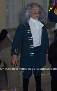 Coolest Electrocuted Ben Franklin Costume School Pinterest