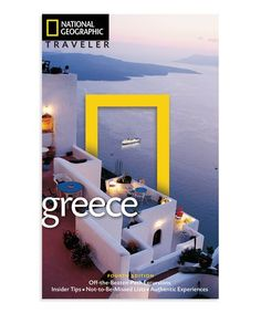 This Traveler: Greece Paperback is perfect! #zulilyfinds