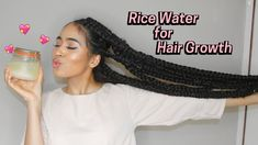 Is Your Hair Looking A Little Dull? Use This Great Advice To Get A Healthy Head Of Hair How to Make Rice Water Super Hair Growth Treatment! 2 ways Hair Remedies For Growth, Hair Growth Treatment, Hair Loss Remedies, Hair Growth Tips, Natural Hair Regimen, Natural Hair Growth, Natural Hair Styles, Curly Hair Growth, Biotin Hair Growth