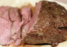 Garlic Lover's Roast Beef