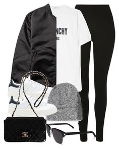 """""""Sin título #14334"""" by vany-alvarado ❤ liked on Polyvore featuring Topshop, Givenchy, Acne Studios, adidas Originals, Topman, Chanel and Yves Saint Laurent"""