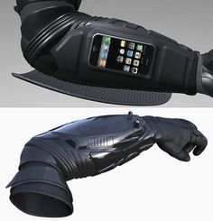 I am incomplete without this stun gun multi-gadget batman-worthy military-grade sleeve armor thing. - Tap The Link Now To Find The Gift Motorcycle Gear, Bike, Custom Motorcycle Helmets, Armadura Cosplay, Cuir Vintage, Futuristic Armour, Tac Gear, Armor Concept, Cool Gear