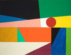 Frederick Hammersly, Around a round, 1959 | LACMA Collections