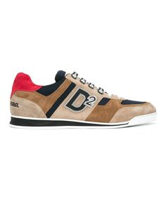 DSQUARED2 Dsquared2 Men's  Beige/Brown Suede Sneakers. #dsquared2 #shoes #