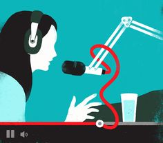 Billboard mag - YouTube Radio by Sébastien Thibault, via Behance