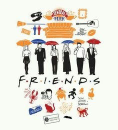 FRIENDS has always been my favourite comedy show. I adore it. I think I've seen each episode at least 4 times!