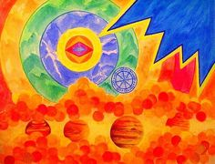 Meditation Chakra Painting Flash  Original di JannasCraft su Etsy, $229.00