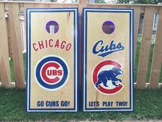 Baseball T Shirt Mockup Baseball Buckets, Baseball Signs, Chicago Cubs Baseball, Chicago Cubs Logo, Chicago Cubs Pictures, Cornhole Designs, Custom Cornhole Boards, Mlb Teams, Sports Teams