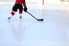 Ice hockey - invented in Windsor, Nova Scotia. Canadians favorite pass time, played on backyard ice, ponds, lakes and of course there are thousands of skating rinks.