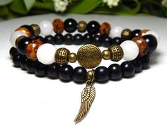 Brown and Black Bracelet – BlueStoneRiver