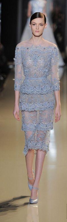 Elie Saab Spring/Summer 2013 show at Paris Fashion Week.
