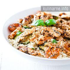 Sałatka z kuskusem | Przepisy kulinarne ze zdjęciami