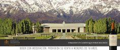Bodegas Salentein ~ Valle de Uco, Argentina. Bellisma magestuoda, gastronomia espectacular y sus vinos maravillosos en todas sus gamas