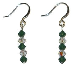 Palace Green Opal Earrings made with Swarovski Elements EP Laser http://www.amazon.com/dp/B00GZI9A0C/ref=cm_sw_r_pi_dp_AF76vb0AMDYK6