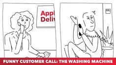 Funny Customer Call: The Washing Machine http://cstu.io/4495d1