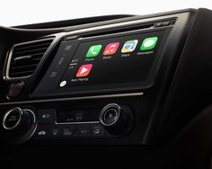apple introduces CarPlay, an integrated iOS infotainment system for iPhone - designboom | architecture & design magazine