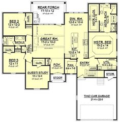 Floor Plans Online floor plan for a small house 1150 sf with 3 bedrooms and 2 baths Floor Plan This Might Be As Good As It Gets For Me