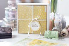 Geschenkverpackung für Muttertag selber machen mit dieser Anleitung. Gift Wrapping, Diy Presents, Mother's Day Diy, Book Folding, Gift Wedding