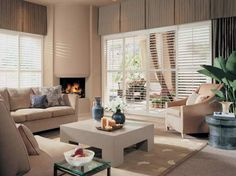 Custom hardwood shutters: Heritance® by Hunter Douglas,http://www.hwfashions.com/products/CustomWindowTreatments/CustomShutters