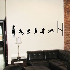 Rugby Union Wall Decal Stickers   Cool Art Vinyl