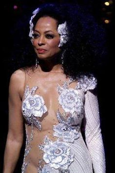 "Diana Ross""flowering it up"""