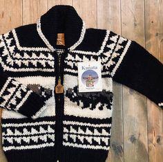 Cowichan Sweater, Hand Knitting, Buffalo, Snow, Indian, Crochet, Sweaters, Instagram, Fashion