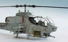 AH-1W Super Cobra 1/35 Scale Model