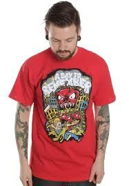 A Day To Remember, killer tomato shirt A Day To Remember, Mens Tops, Bands, T Shirt, Clothes, Supreme T Shirt, Outfits, Tee Shirt, Clothing