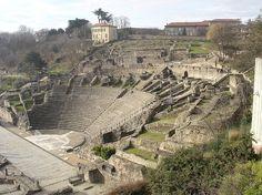 Visite Guidée privée du Lyon Gallo-Romain - L'amphithéâtre antique de Lyon  - Visite Guidée privée France Histoire