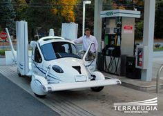 flying car | Terrafuga Flying Car