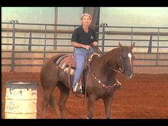 How To Train Barrel Horses 1