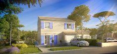 Modèle : Grand Nacre / 4 Chambres / 105 m² : Ce modèle contemporain et modulable est la maison familiale par définition, avec de beaux volumes et nombreux rangements.