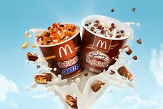 McDonald´s McFlurry Galaxy/Snickers on Behance