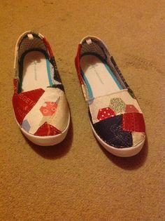 Zapatillas patchwork